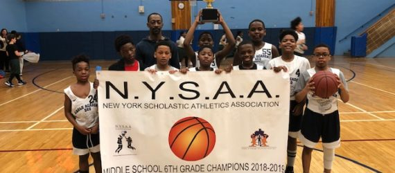 Eagle Academy SEQ 6th Grade Champs!