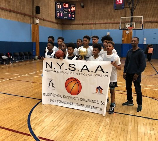 Eagle Academy SEQ Back to Back Middle School Champs!