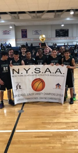 Brooklyn Prospect Charter Back to Back JV Champs!